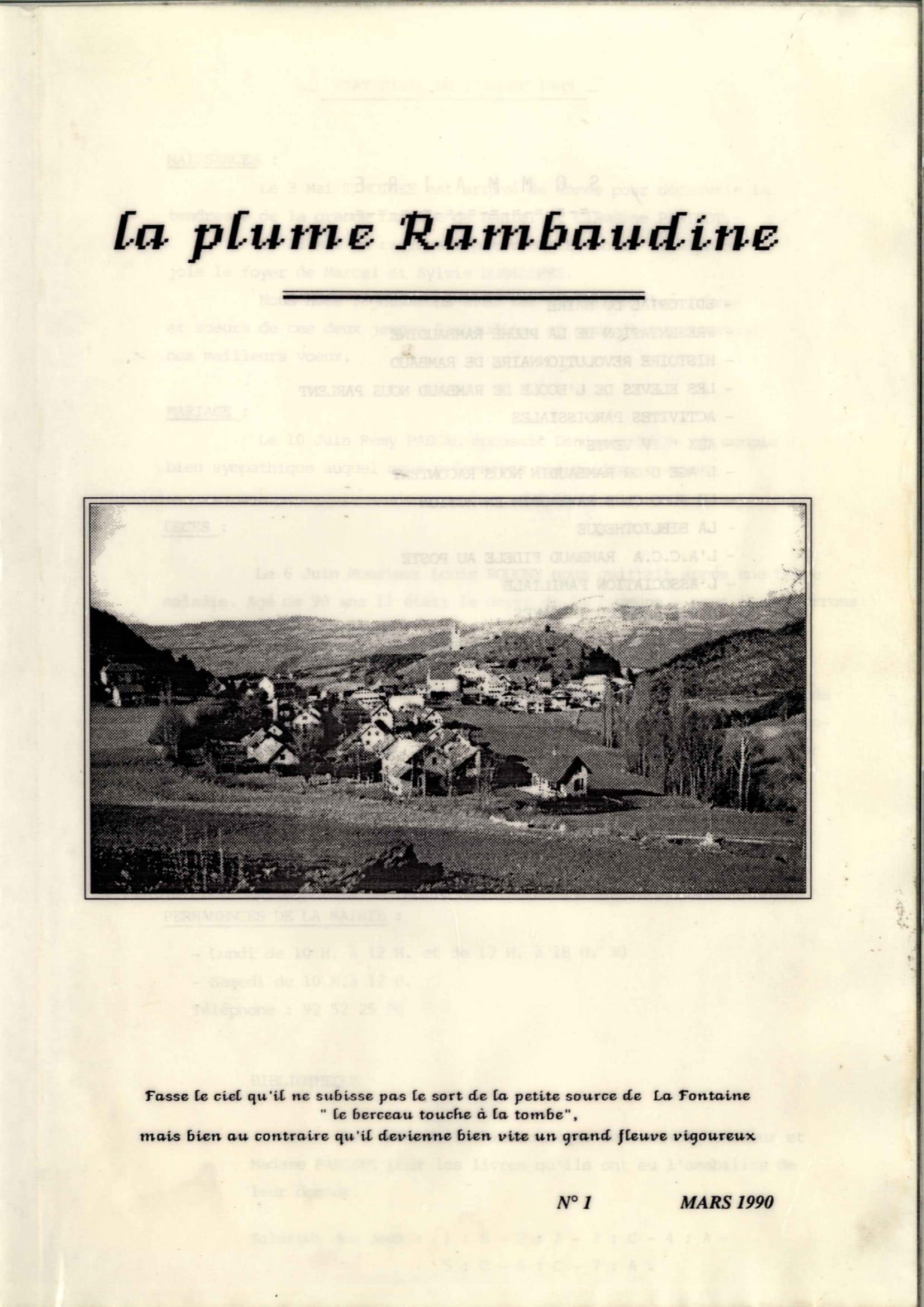 Commune de RAMBAUD